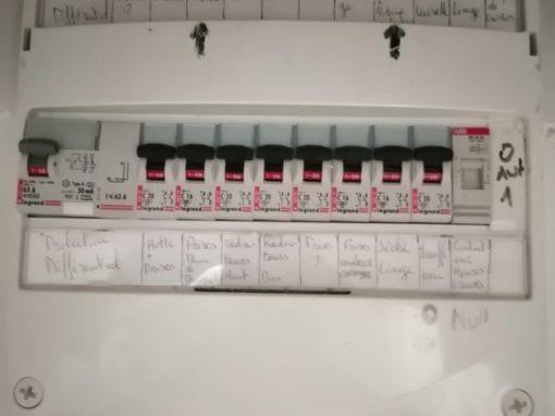 mise aux normes tableau électrique plomodiern