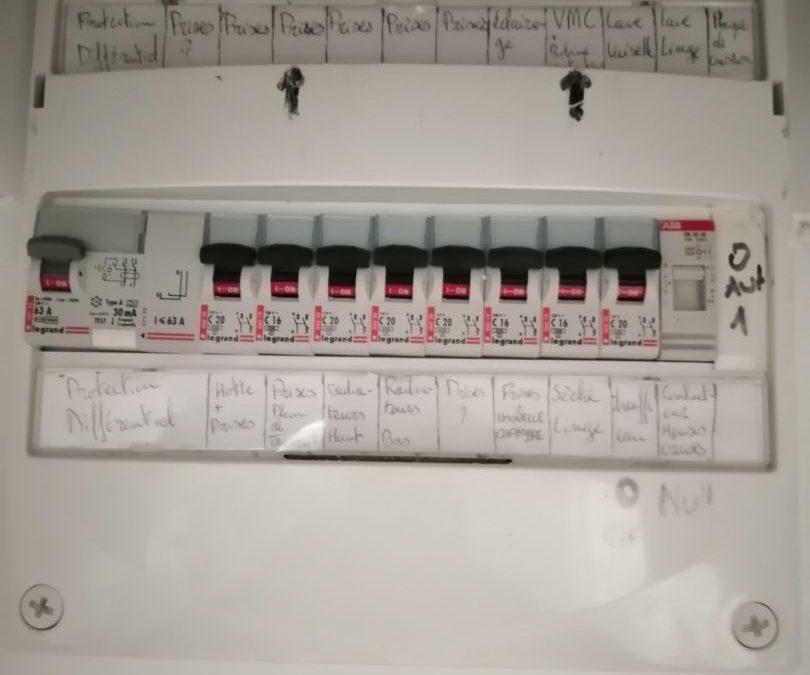 Plomodiern mise aux normes tableau électrique