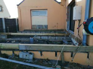 réalisation terrasse bois restaurant l'oasis plomodiern (1)