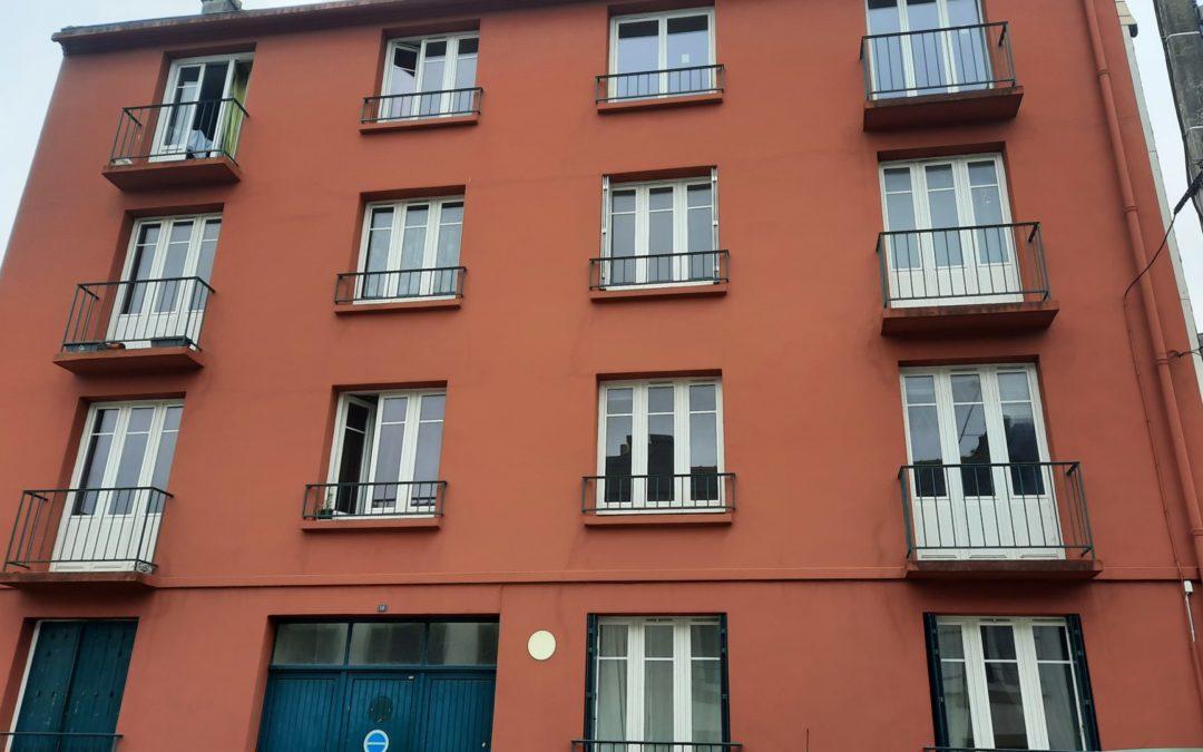 Rénovation fenêtres en cours de travaux Châteaulin